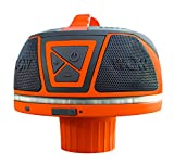 WOW-SOUND 17-9000, Bluetooth Floating Speaker, Waterproof, 50 Hour Battery, 360 Degree Sound, LED Light, Fits In A Cup Holder