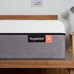 Yogabed Luxury Memory Foam Mattress Plus 2 Memory Foam Pillows – Cal King