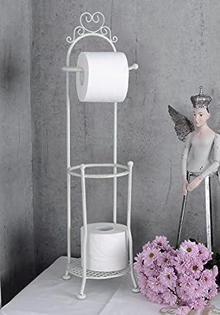 Cool Toilettenpapierhalter Landhausstil WC Rollenhalter Weiss  WF78