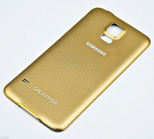 Battery Door Back Cover Gold w Waterproof Seal Gasket For Samsung Galaxy S5 G900 ~ USA
