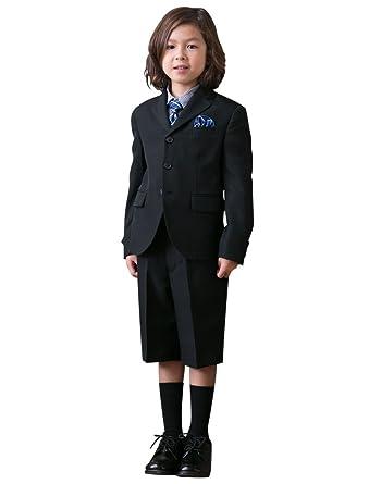 915d0093224d8  OLIVER HOUSE  入学式 男の子 スーツ (ブラックフォーマル 5点セット) 卒