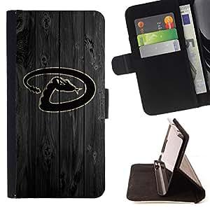 BullDog Case - FOR/LG OPTIMUS L90 / - / D Snake Sports Team /- Monedero de cuero de la PU Llevar cubierta de la caja con el ID Credit Card Slots Flip funda de cuer
