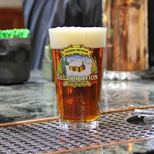 Sierra Nevada Brewing Company - Celebration Pale Ale - Pint Glass - (Sierra Nevada Celebration Ale)