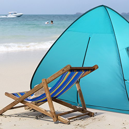 Wolfwise Sun Shelter Tent Instant Easy Pop Up Beach