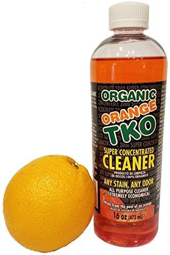 Organic Orange TKO Super Concentrated Cleaner (16 oz) - Orange All Purpose Bathroom Cleaner