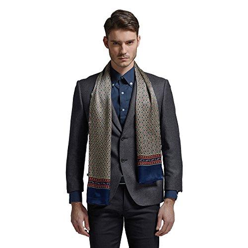 Satin Silk Long Scarf - Hip Mall Fashion 100% Silk Long Charmeuse Satin Men Silk Scarf Cravat