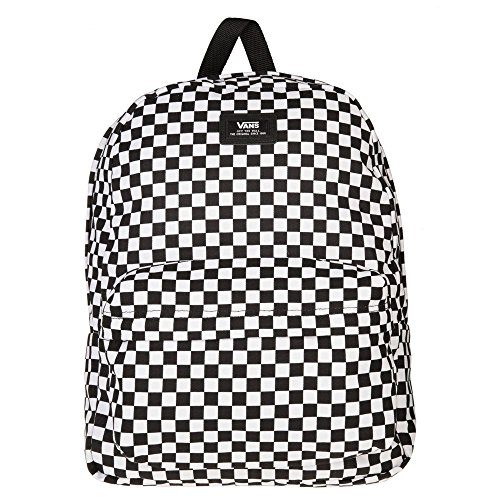 Internal Van (Vans Old Skool II Backpack Black/White Check One Size)