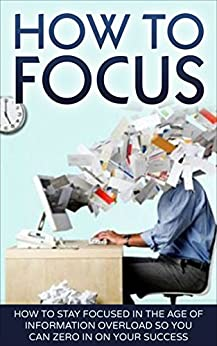 How To Focus: How To Stay Focused In The Age Of Information Overload So You Can Zero In On Your Success (Concentration, Focus) by [Haldin, Mark]