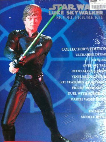Star Wars Luke Skywalker Model Figure Kit. Collectors Edition ultrafine Detail 1/4 Scale and Over 18