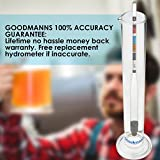 Hydrometer (Beer/Wine) & Glass Test Jar - Brewing