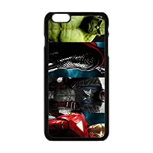 GKCB The Avengers Fashion Comstom Plastic case cover For Iphone 6 Plus