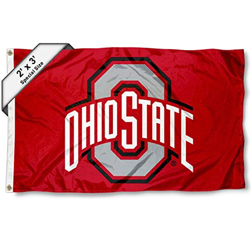 Ohio State Buckeyes 2x3 Foot Flag