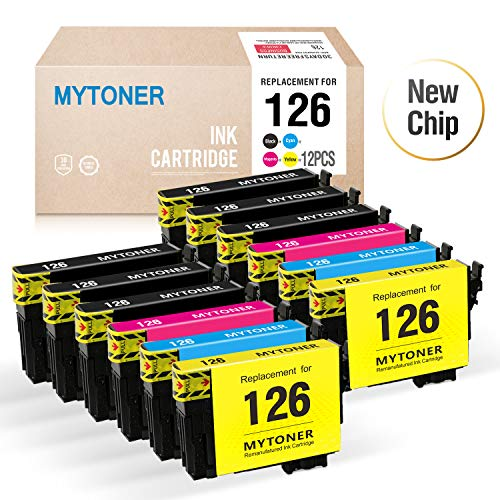 MyToner Re-Manufactured Ink Cartridge Replacement for Epson