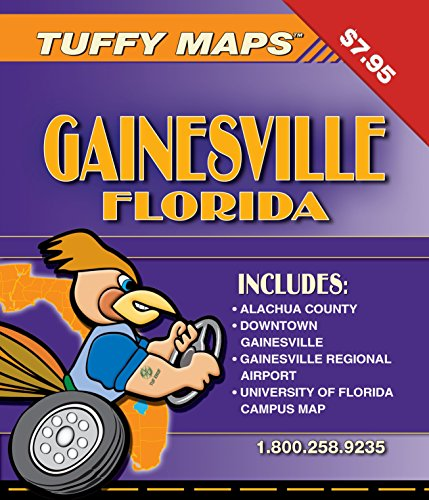 Gainesville FL Tuffy Map for sale  Delivered anywhere in USA