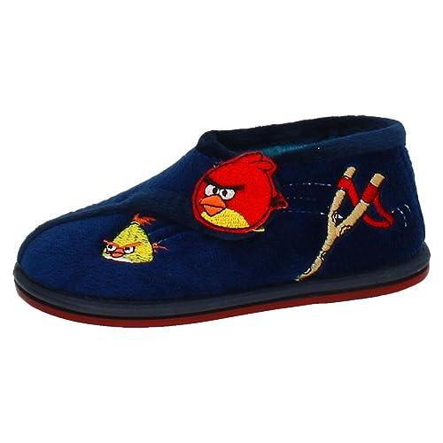 MORANCHEL 3598 Zapatilla Angry Bird NIÑO Zapatillas CASA Marino 25: Amazon.es: Zapatos y complementos