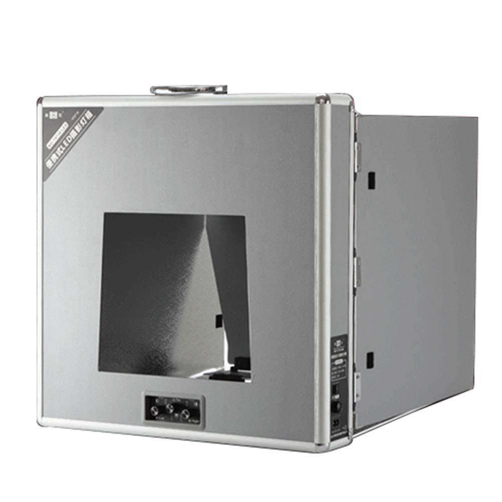Peacefre 12.5inx12.5inポータブル折りたたみ写真ledランプスタジオプロフェッショナル写真撮影テント照明5600k-Cri 95   B07MF4B5X4