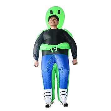 DUCKTOYS Traje Inflable De Halloween Fantasma Verde Huddle ...