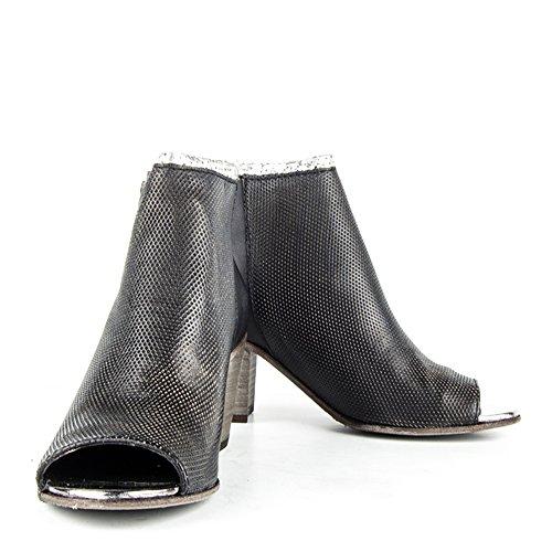 Felmini - Scarpe Donna - Innamorarsi com Leiria - Stivaletti - Cuoio Genuina - Nero