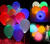 Party Tonight 15 Pk Balloons Mixed Colors : LED Balloons. Great for All Occasions: Birthdays, Holidays, Anniversary & Gift For Kids! Enjoy The Ultimate Balloons For Any Party