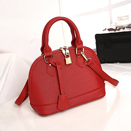 Backpack Wild 251219cm Color of Bag Ladies Red The Size Fashion Body Version Tide Shoulder Wine Korean Blue Simple Handbag Oblique Bag 7wqnvZU