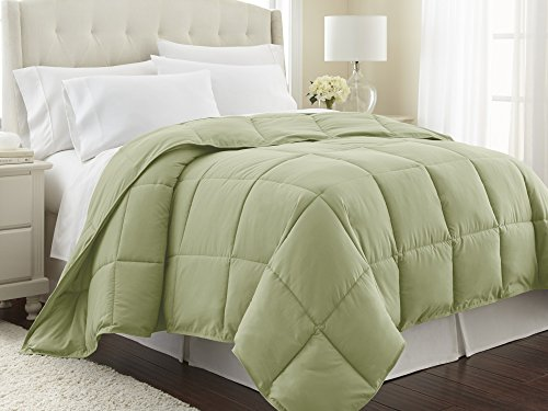 Southshore Fine Linens - Vilano Springs - - Down Alternate Weight Comforter - Sage Green - Full/Queen