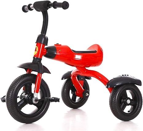 Moolo Pedal Triciclo para niños Bicicleta 2-6 años para niños Coche de Juguete multifunción Trikes con música y luz: Amazon.es: Deportes y aire libre