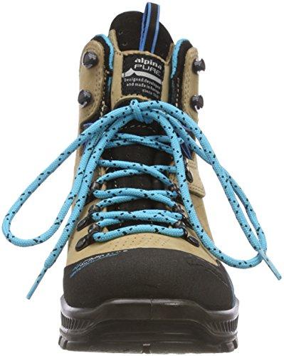 ALPINA 680406, Stivali da Escursionismo Alti Donna Marrone (Braun 2)