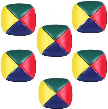 Rmeet Bolas de Malabarismo,6 Pack Mini Bolas para Malabares Bolas ...