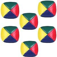 Rmeet Bolas de Malabarismo,6 Pack Mini Bolas
