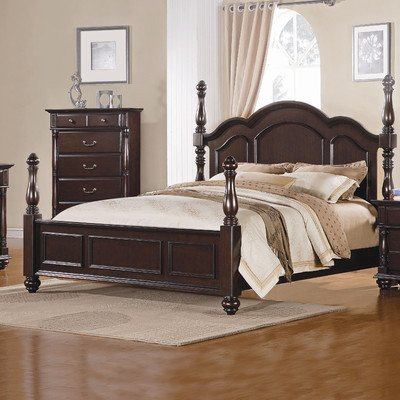 - California King Post headboard by Homelegance