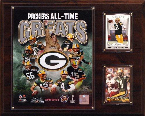 Green Bay Packers Plaque - NFL Green Bay Packers All-Time Greats Photo Plaque