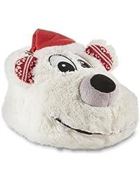 Women's Polar Bear Christmas Slippers