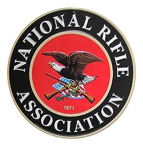 Amazon Com National Rifle Association Nra Round Metal