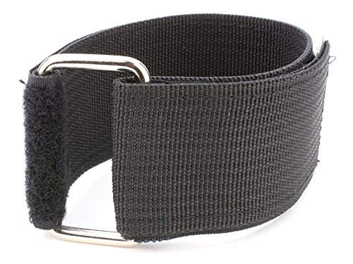 (18 x 2 Inch Heavy Duty Black Cinch Strap - 5 Pack)