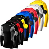 Mens & Boys TCA SuperThermal Compression Base Layer Top Long Sleeve Thermal Under Shirt