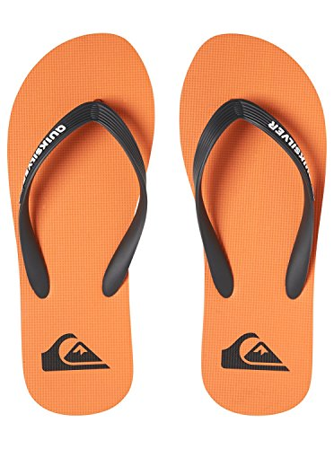 Grey Grey Quiksilver Orange Molokai Homme Tongs Gris qIBIpw