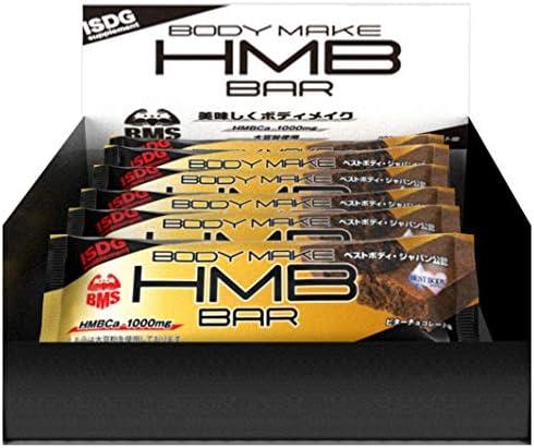 ISDG 医食同源ドットコム HMBプロテインバー [HMBCa1000mg] ビターチョコレート味 12本入り