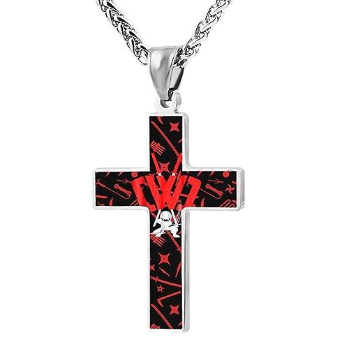 Amazon.com: BEKAI Chad Wild-Clayy NinJa Warrior Faith Cross ...