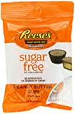 REESE'S Peanut Butter Cup Miniatures (Sugar Free, 3-Ounce Bags, Pack of 12)