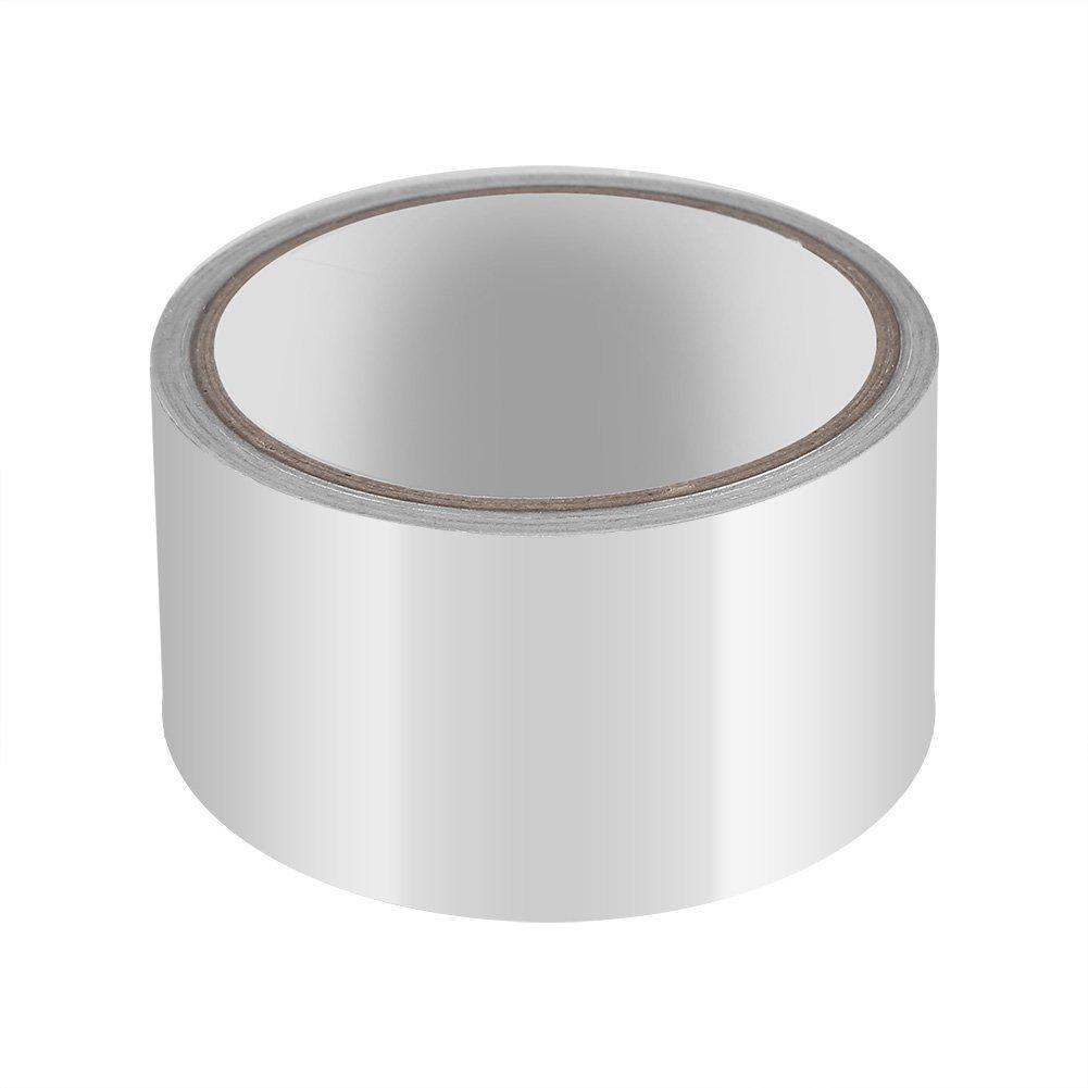 Ruban de protection thermique, Bande Isolant Thermique d'aluminium + PE, pour Tuyeau Collecteur Echappement, Argent Bande Isolant Thermique d' aluminium + PE Acogedor