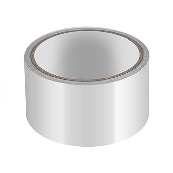 Cinta adhesiva de aluminio, resistente al calor, rollos de cinta laminada para reparación de