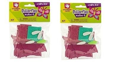 JJs ToyScape Butterflies Making Craft Kit Pack Of 2 Kids Fun Activities