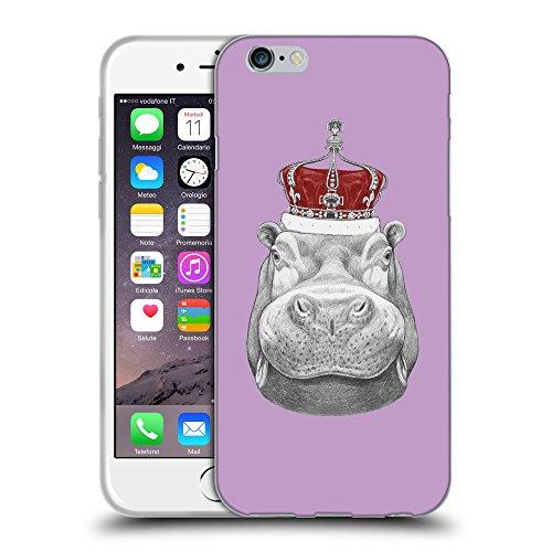 GoGoMobile Coque de Protection TPU Silicone Case pour // Q05260617 hippopotame Ube lumineux // Apple iPhone 7