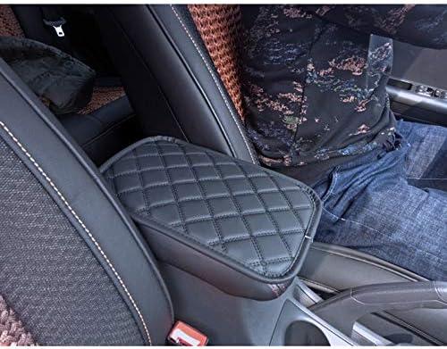 SUV Camiones Consola Central de Piel Suave Funda Universal para reposabrazos de Coche Coches Gelentea Duradera para la mayor/ía de veh/ículos