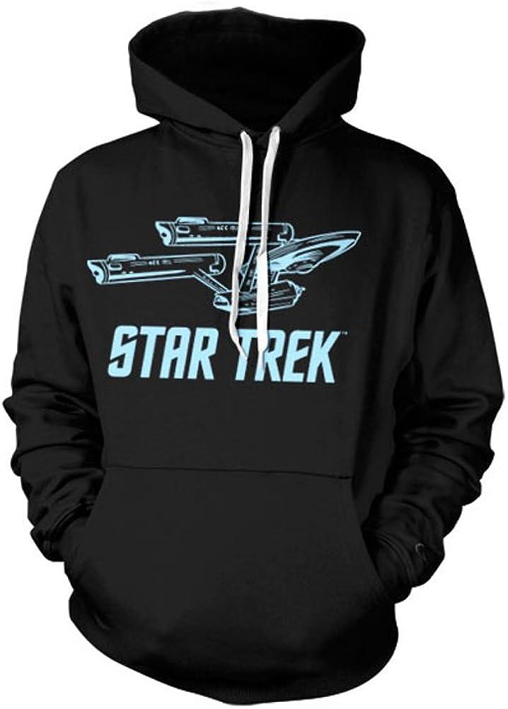 Enterprise Ship Hoodie Star Trek