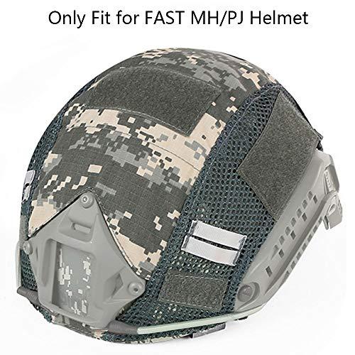 Aoutacc Tactical Multicam Helmet Cover, Military Fast Helmet Cover for Fast MH/PJ Helmet (No Helmet) (ACU)