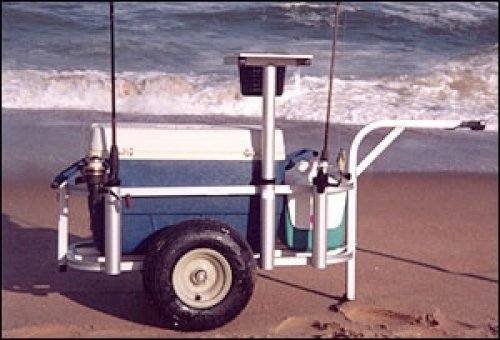 Surf Fishing Carts - Fish N Mate (No Front Wheels) Jr Cart
