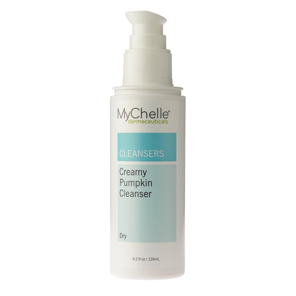 MyChelle Creamy Pumpkin Cleanser, Antioxidant-Rich Hydrating Face Wash for Normal to Dry Skin Types, 4.2 fl oz