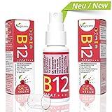 NEW: Vitamin B12 Spray 25ml   125 Sprays, 4 Month Supply   250 mcg per Spray, B12 Methylcobalamin   Cherry Flavour   VEGAN by Vegavero