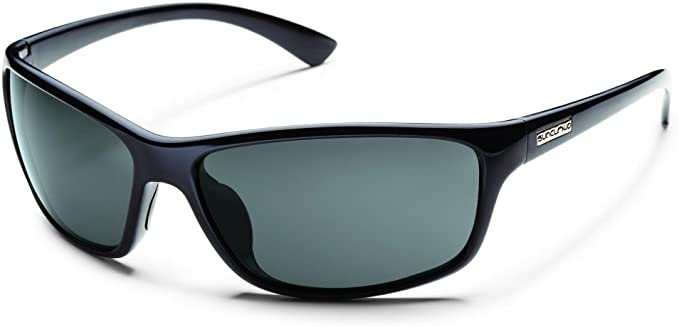 Gray Polar Lens, Black Suncloud Finish Line Sunglass